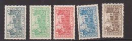 ALGERIE         N°  YVERT  :   200/204    NEUF AVEC  CHARNIERES      ( Ch 1/19  ) - Algérie (1924-1962)