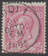 COB N° 46 - Oblitéré - MIDI 1 - 1884-1891 Léopold II