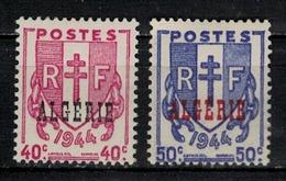 ALGERIE         N°  YVERT  :   225/226   NEUF AVEC  CHARNIERES      ( Ch 1/19  ) - Algérie (1924-1962)