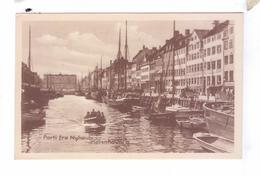 KJOBENHAVN Kobenhan  Copenhagen Havn Bad  Parti Fra Nyhauh - Danemark