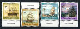 PAPOUASIE 1988 N° 556/559 ** Neufs MNH  Superbes C 8,50 € Bateaux Voiliers Historiques Caravelle Astrolabe Fly Sailboat - Papouasie-Nouvelle-Guinée