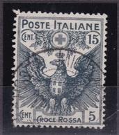 1915/16 PRO CROCE ROSSA IL CENT 15+5 - 1900-44 Vittorio Emanuele III
