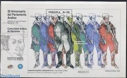 Venezuela 1999 Andino Parliament S/s, (Mint NH), Stamps - Venezuela