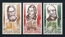 AFARS ISSAS 1973 PA N° 91/93 ** Neufs MNH Superbes C 10,70 € Koch Jenner Röntgen Célébrités - Neufs