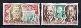 AFARS ISSAS 1972 PA 76/77 ** Neufs MNH Superbes C 10.30 € Pasteur Calmette Guérin Médecine Medicine - Neufs