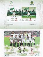 Saudi Arabia New Issue 2018, World Cup Russia Set 2v.+ Souvenir Sheet MNH- Compl.set - SKRILL PAYMENT ONLY - Saudi Arabia