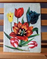 Piece Sur Le Theme De Bonne Fete Maman - Bouquet De Tulipes - Fête Des Mères