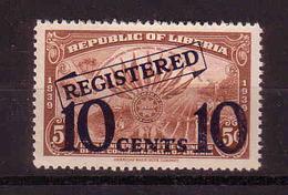 122d * LIBERIA 325 * EINSCHREIBEN * POSTFRISCH ** !! - Liberia