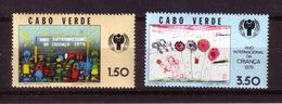 124d * CABO VERDE 399/400 * JAHR DES KINDES * POSTFRISCH ** !! - Kap Verde