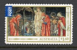 2012 AUSTRALIA CHRISTMAS $1.60 Booklet Or Self-adhesive Stamp Perf. 11 FINE USED - Noël
