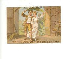 Piece Sur Le Theme De Chromo - Ad Godchau - Vetements Pour Hommes Et Enfants - Paris - Autres