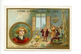 Piece Sur Le Theme De Chromo - Creme Express - Ch Jux - Confiserie - Paris - Copernic - Autres