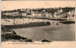 31ro 630 CPA - BELLE ILE EN MER - VUE GENERALE DE SAUZON - Belle Ile En Mer
