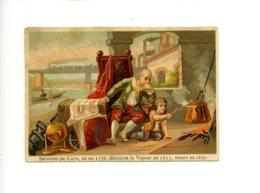 Piece Sur Le Theme De Chromo - Salomon De Caux - Ne En 1576 - Découvre La Vapeur - Autres