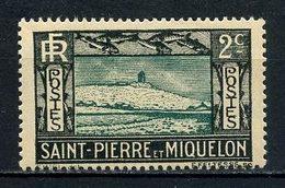 SPM Miquelon 1932  N° 137 ** Neuf MNH Superbe Falaise Et Phare Light House - St.Pedro Y Miquelon