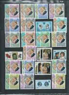 Colonies Anglaises. Série Omnibus, Mariage Princesse Anne 1973. Timbres Et Blocs Neufs ** Luxe - Timbres