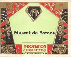 MUSCAT DE SAMOS  HM  (1) - Blancs