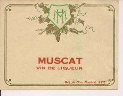 MUSCAT VIN DE LIQUEUR  HM  (1) - Blancs