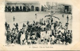 DJIBOUTI(FETE DU MARDI GRAS) - Gibuti