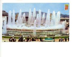 Piece Sur Le Theme De Espagne - Barcelona - Fuente Monumental De Montjuich - Espagne