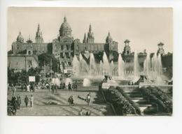 Piece Sur Le Theme De Espagne - Barcelona - Parque De Montjuich Y Palacio Nacional Del Arte - Espagne