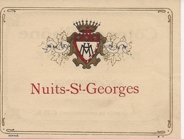 NUITS-ST-GEORGES   HM  (1) - Bourgogne
