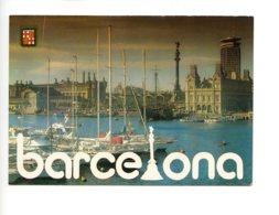 Piece Sur Le Theme De Espagne - Barcelona - Port - N 515 - Espagne