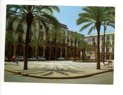 Piece Sur Le Theme De Espagne - Costa Dorada - Villanueva Y Geltru - Plaza Del 18 De Julio - 2 Timbres Verts - Espagne