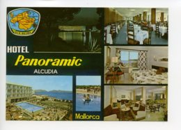 Piece Sur Le Theme De Espagne - Multivues - Hotel Panoramic - Aloudia - Mallorca - Ecrite - Espagne