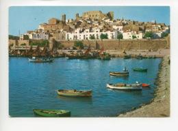 Piece Sur Le Theme De Espagne - Peniscola - Castellon - Detalle Del Puerto - Espagne