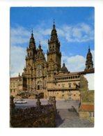 Piece Sur Le Theme De Espagne - Santiago De Compostela - Categral - Espagne