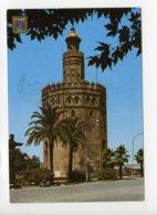Piece Sur Le Theme De Espagne - Sevilla - Torre Del Oro - Voyagee En 1988 - Espagne