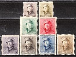 165/72*  Roi Albert Casqué - Bonnes Valeurs - MH* - LOOK!!!! - 1919-1920 Roi Casqué