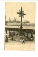 Piece Sur Le Theme De Le Treport - Le Calvaire - Carte Pionniere - Le Treport