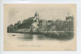 Piece Sur Le Theme De Le Treport - Le Port Et L Eglise - Collection Odic - Le Treport