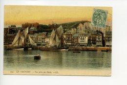 Piece Sur Le Theme De Le Treport - Vue Prise Des Docks - Le Treport
