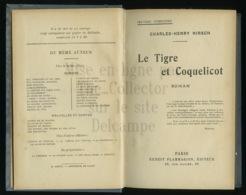Piece Sur Le Theme De Livre - Le Tigre Et Coquelicot - Charles Henry Hirsch - Ernest Flammarion - Editeur - Paris - Livres, BD, Revues