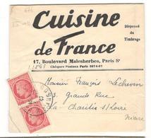 14257 - Tarif Des Imprimés  à 2 F - Storia Postale