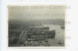 Piece Sur Le Theme De Marseille - Photo Argentique Du Port Et Des Bateaux - Datee Au Dos 15 Juin 1922 - Lieux