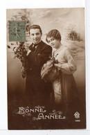 CPA - COUPLE - BONNE ANNÉE - Couples