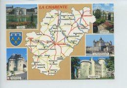 Piece Sur Le Theme De Multivues - Charente Pitoresque - Angoumois - Avec Carte - Ecrites - Francia