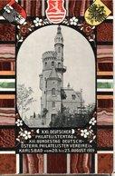 1909 - JOURNEE DE LA PHILATELIE - POSTEE A KARLSBAD - - Stamped Stationery
