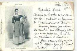 MALLORCA  TIPOS  MALLORQUINES  RV  Beau Timbre - Mallorca