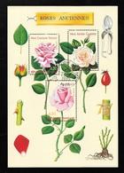 FRANCE Bloc 24 Avec Gomme Congrès Mondial De Roses Anciennes à Lyon 3248 3249 3250 - Blocs & Feuillets