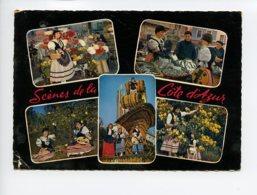 Piece Sur Le Theme De Multivues - Scenes De La Cote D Azur - Oblit En 1963 - Non Classés
