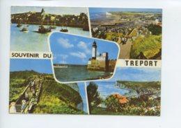 Piece Sur Le Theme De Multivues - Souvenir Du Treport - Non Voyagee - Le Treport