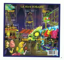 LA FETE FORAINE TIMBRE FRANCAIS , BLOC F4378 Y.T , NEUF - Sheetlets