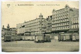 CPA - Carte Postale - Belgique - Blankenberghe - Les Grands Hôtels De La Digue - 1912 (M7415) - Blankenberge