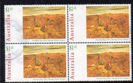 AUSTRALIA, 1995 $1.05 AUSTRALIA DAY BLOCK 4 F.USED - 1990-99 Elizabeth II