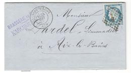 14276 - Brasserie De MACON - Marcophilie (Lettres)